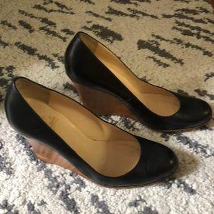 Louboutin wedge Black shoes